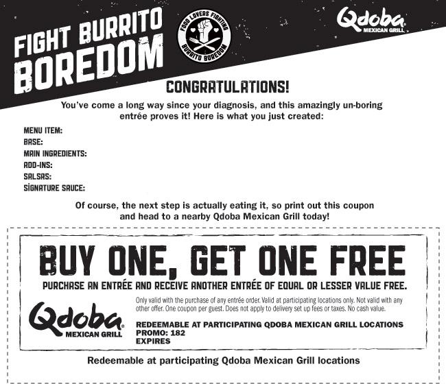 Qdoba | Free & Easy Living